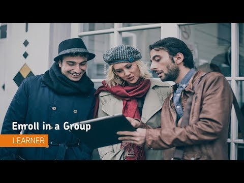 Groups - Enroll in a Group - Learner