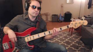 """The Final Countdown"" bass cover (Rock of Ages Broadway Cast)"
