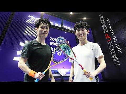 [매치업스쿼시] 2019최강자전 결승 박문수 vs 이상진