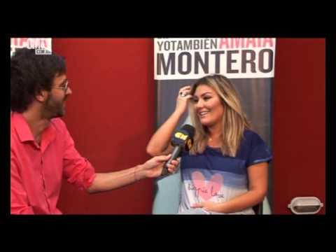 Amaia Montero video Entrevista CM - Argentina 2015