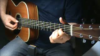Everybody Has The Blues-James Taylor-finger style-chords-cover