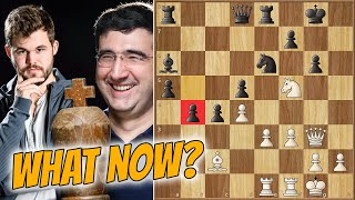 Big Move For Big Vlad || Carlsen Vs Kramnik || Chess24 Legends Of Chess (2020)