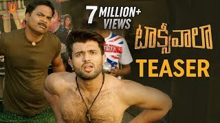 Taxiwaala Movie Teaser to  Vijay Deverakonda and Priyanka Jawalkar and Malavika Nair and TaxiwaalaTeaser
