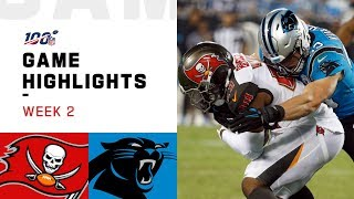 The Tampa Bay Buccaneers take on the Carolina Panthers during Week 2 of the 2019 NFL season.  Subscribe to NFL: http://j.mp/1L0bVBu  Check out our other channels: NFL Vault http://www.youtube.com/nflvault NFL Network http://www.youtube.com/nflnetwork NFL Films http://www.youtube.com/nflfilms NFL Rush http://www.youtube.com/nflrush NFL Play Football https://www.youtube.com/playfootball NFL Podcasts https://www.youtube.com/nflpodcasts  #NFL #Bucs #Panthers
