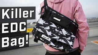 Messenger Bags Have EVOLVED -  AOKU Tigershard Camo Bag REVIEW