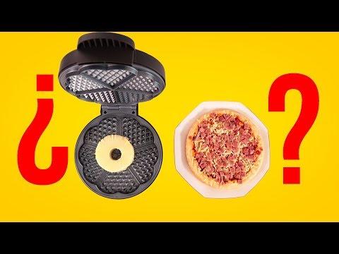 ¿PUEDES METER PIZZA CON PIÑA EN LA GOFRERA? Con ADEXE&NAU, THE CRAZY HAACKS, ROVI&MEL
