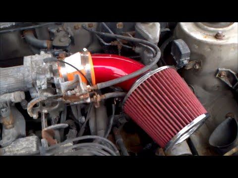 Installing A Custom Air Intake On A Toyota Corolla Mp3