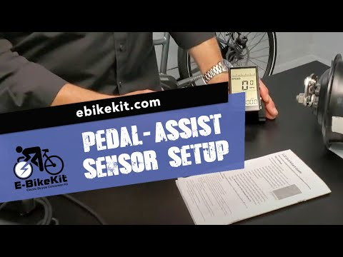 E-BikeKit | Setup Your Pedal-Assist Sensor (PAS)