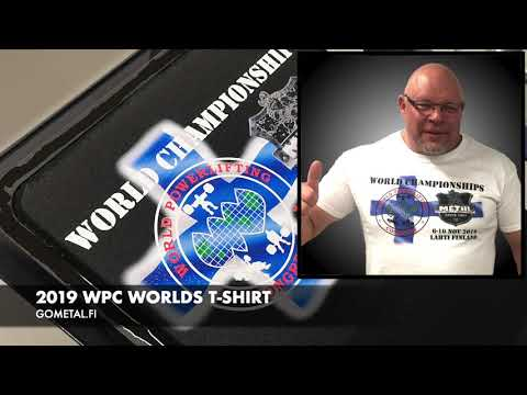 2019 WPC WORLDS T-SHIRT