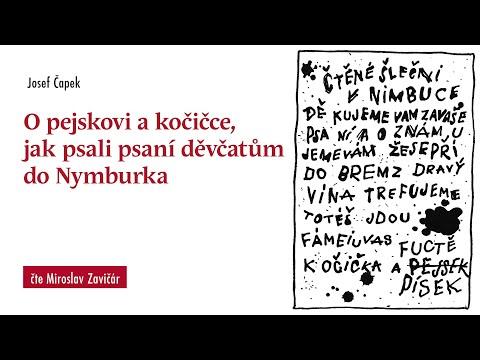 O pejskovi a kočičce, jak psali psaní děvčatům do Nymburka (čte Miroslav Zavičár)