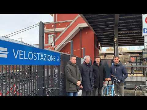 Come funziona la velostazione di Varese Nord