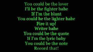 Miguel - Sure Thing (Lyrics on screen High Quality Mp3)
