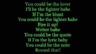 Miguel - Sure Thing (Lyrics on screen HD)