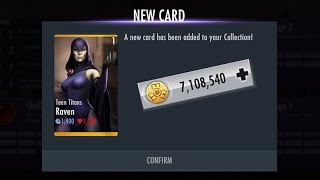 Injustice! 2.11 How to get FREE Teen Titans Raven & Coins (iOS devices only)