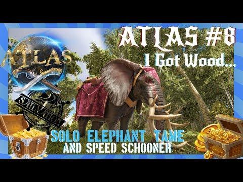 Atlas - Flamethrower Schooner Speed Build Guide