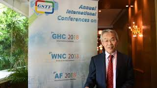 Mr. James YK Lau at AF Conference 2018 by GSTF Singapore