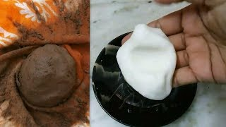 Easy 2 Methods Clay Preparation For Ganesha // Homemade Clay Making // How To Make Clay