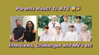 Parents React To BTS