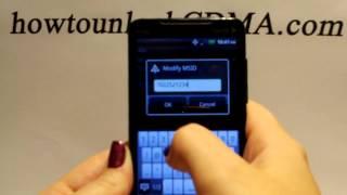 Unlock Sprint HTC Evo 4G