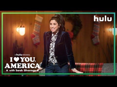Sarah's Monologue on the War on Christmas | I Love You, America on Hulu