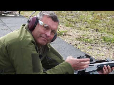 """Poligonā """"Mežaine"""" atklāj modernu šautuvi"""
