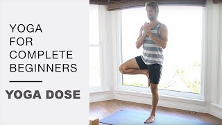 Yoga For Complete Beginners 25 Minute Home Workout by Yoga With Tim