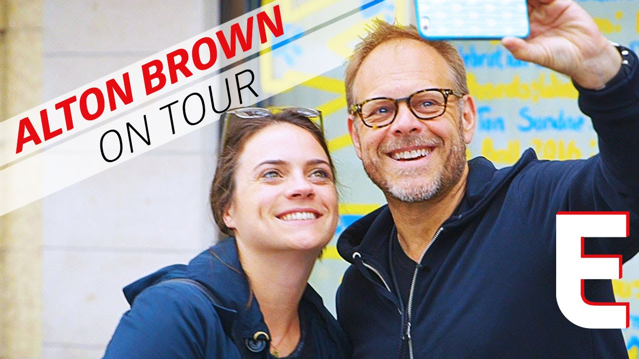 How Alton Brown Uses Drones To Sell Out Theaters - On Tour With Alton Brown thumbnail