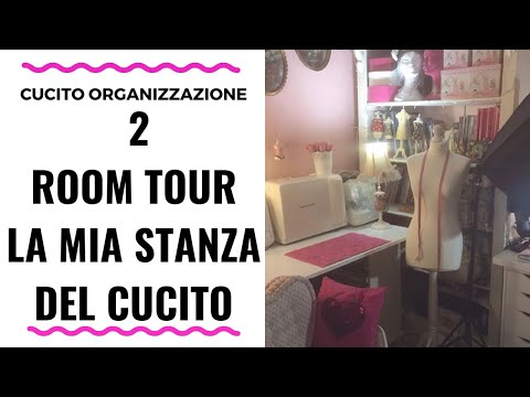 Room tour: La mia stanza e postazione del cucito 2 - Sewing Room