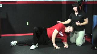 In Motion: Side Plank with Lower Leg Raise