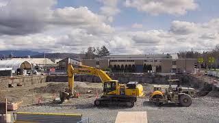 BCIT Health Science Centre Construction Time Lapse