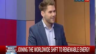 Joining the Worldwide Shift to Renewable Energy - Solar Joe PH on ANC Early Edition