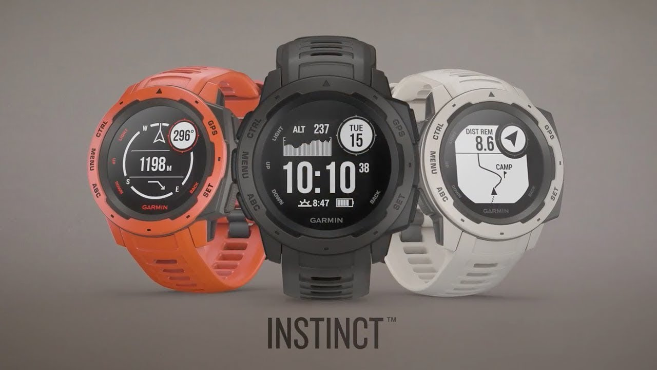 Garmin Instinct™ : Rugged, Reliable Outdoor GPS Watch