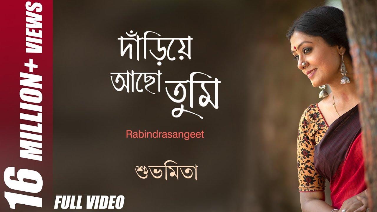Dariye Acho Tumi Amar Ganer Opare Lyrics Bangla English