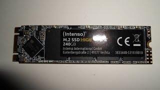 240GB Intenso High Performance M.2 SATA SSD