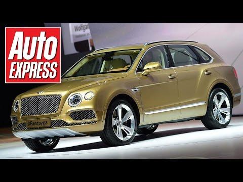 Bentley Bentayga first look at the Frankfurt Motor Show