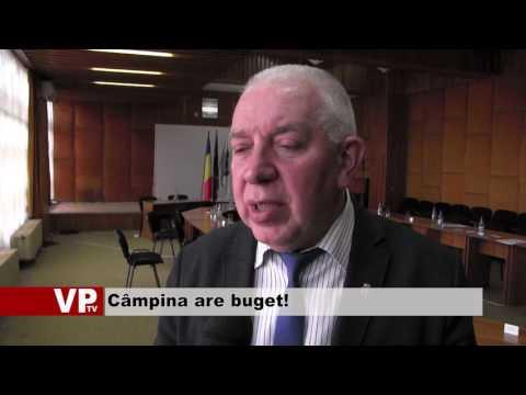 Câmpina are buget!