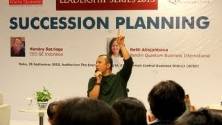 Handry Satriago: Succession Planning