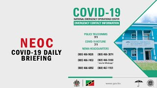 NEOC COVID-19 DAILY BRIEFING FOR APRIL 13 2020