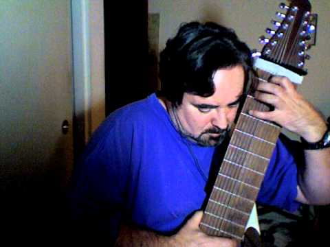 Rodrigo Rockout, excerpts Concierto de Aranjuez mvt. 2 arr. for 12 string touch guitar