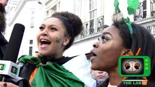 St Patrick's Day street questions | GUESS THIS IRISH ARTIST AND WIN €1000? | The labtv Ireland