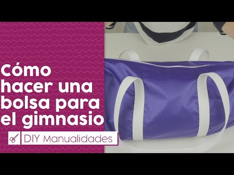 DIY: cómo hacer una bolsa para el gimnasio