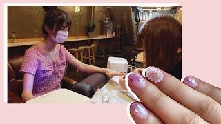Getting Japanese Nail Art In Tokyo 💅