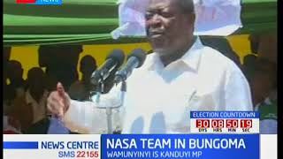 NASA team attend Wafula Wamunyinyi's father's burial in Bungoma