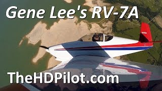 Gene Lee's RV-7A Fun Evening Flight