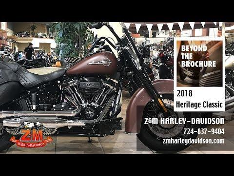 2018 Harley-Davidson Heritage Classic 114 in Greensburg, Pennsylvania