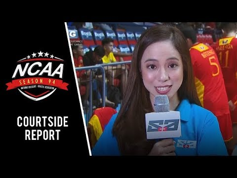 NCAA 94 MB: Chase Orozco reports from the courtside for EAC vs Mapua