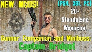 Fallout 4: New Mods - Companion & Miniboss (PS4, XB1, PC)