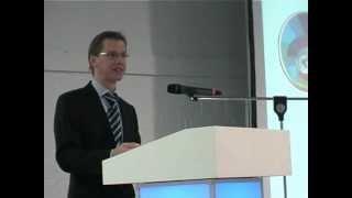 Eröffnung des Symposiums durch den Landesinnungsmeister Markus Straube
