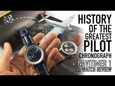 History Of The Greatest Pilot Watch & Breitling Navitimer 1 38mm Review – Pure Class or Disaster?