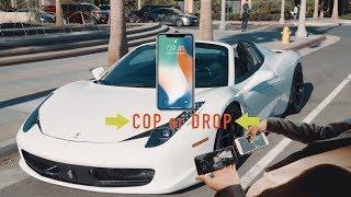 为什么我买iPhone 8 而不买 iPhone X - iPhone X Shopping in a Ferrari
